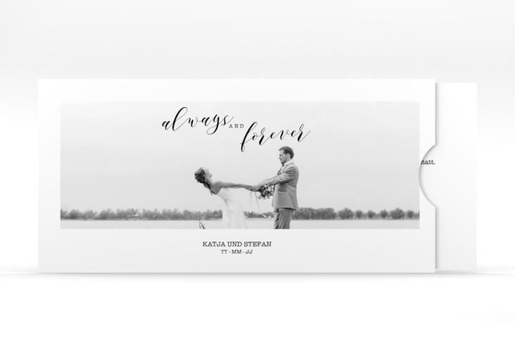 """Hochzeitseinladung """"Photoframe"""" Einsteckkarte"""