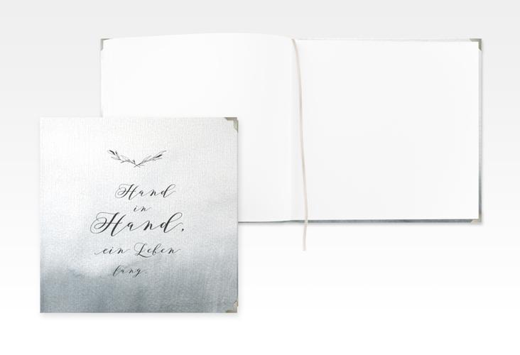 """Gästebuch Selection Hochzeit """"Divine"""" Leinen-Hardcover schwarz"""