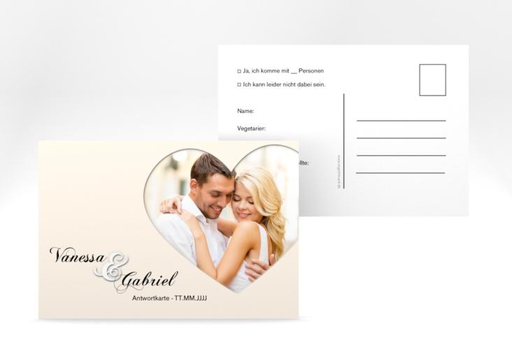 "Antwortkarte Hochzeit ""Sweetheart"" A6 Postkarte"