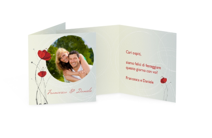 Biglietti Bomboniera matrimonio collezione Madrid Geschenkanhänger 10er Set