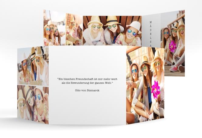 quadratische Klappkarte doppelt – 8 Bilder Quadr. Karte doppelt