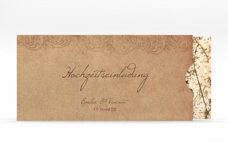 """Hochzeitseinladung """"Fairytale"""" Einsteckkarte"""