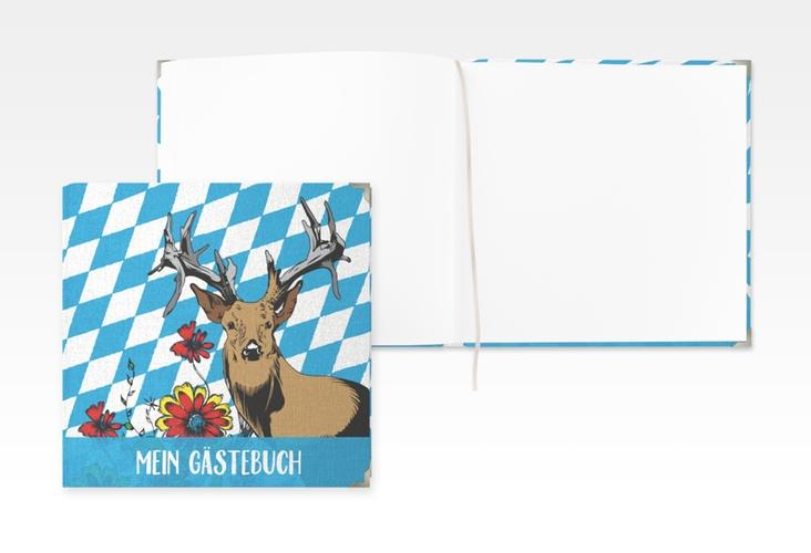 """Gästebuch Selection Geburtstag """"Platzhirsch"""" Leinen-Hardcover"""