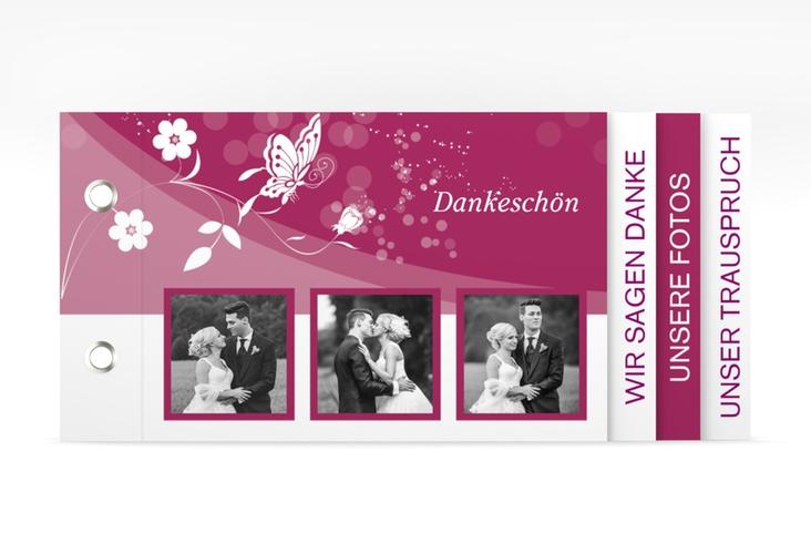 """Danksagungskarte Hochzeit """"Verona"""" Booklet"""