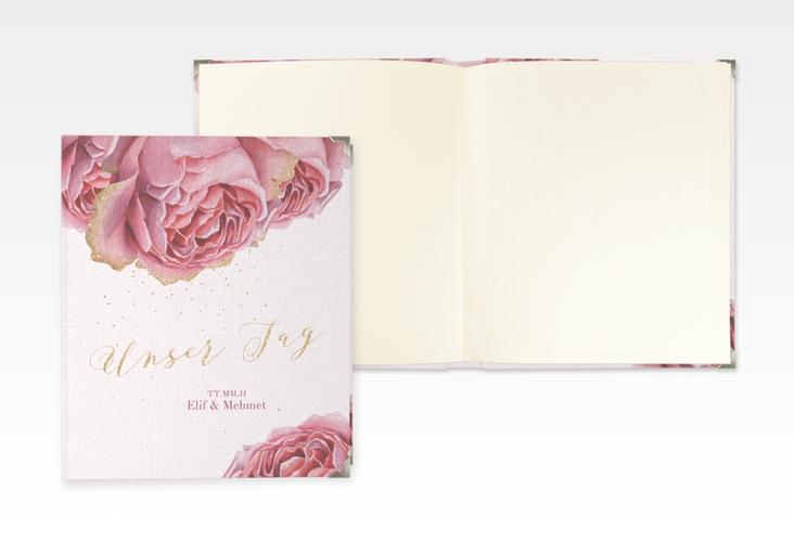 """Hochzeitsalbum """"Cherie"""" 21 x 25 cm gold"""