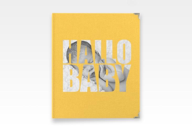 """Baby Fotoalbum """"Wunderlich"""" 21 x 25 cm gelb"""