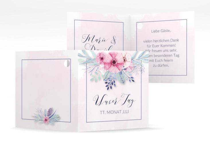 """Geschenkanhänger Hochzeit """"Surfinia"""" Geschenkanhänger 10er Set rosa"""