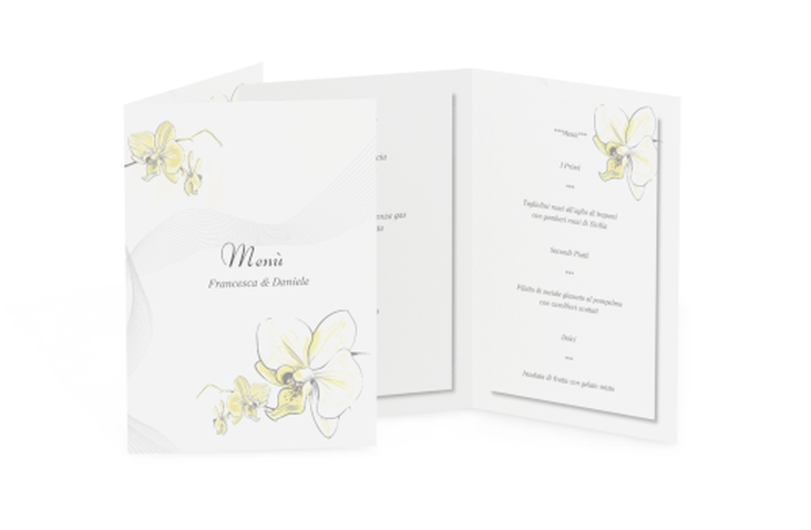 Menù matrimonio collezione Modena DIN A5 geklappt