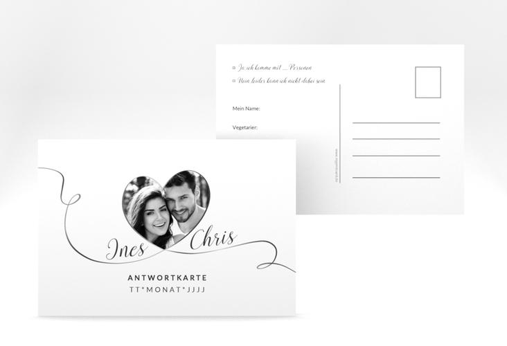 "Antwortkarte Hochzeit ""Dolce"" A6 Postkarte"