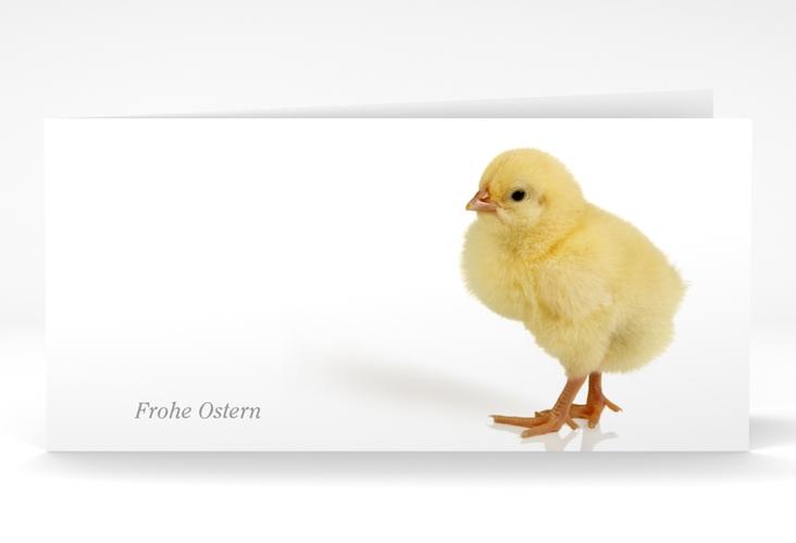 """Osterkarte """"Chick"""" DIN lang Klappkarte"""