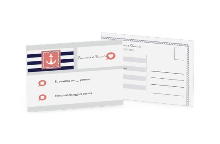 Biglietti risposta matrimonio collezione Lecce A6 Postkarte