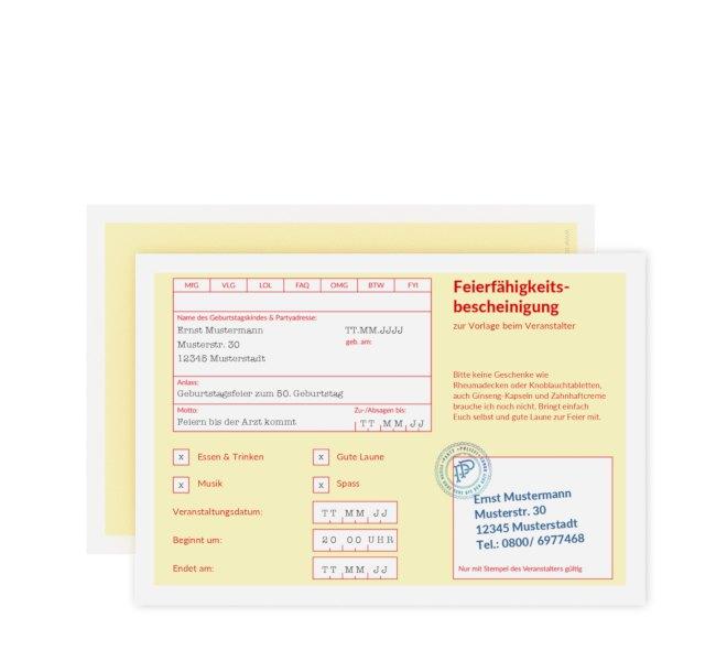Text fur einladungskarten geburtstag 50