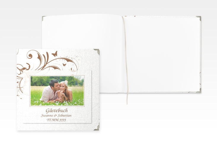 "Gästebuch Selection Hochzeit ""Palma"" Leinen-Hardcover"