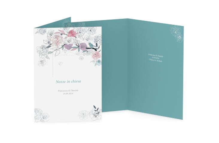 Libro messa matrimonio collezione Perugia DIN A5 geklappt