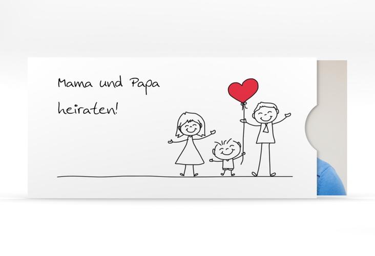 """Hochzeitseinladung """"Family"""" Einsteckkarte"""
