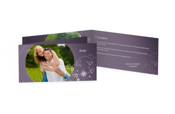 Inviti matrimonio collezione Siena DIN lang Klappkarte