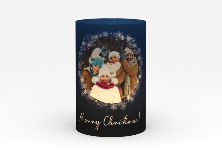 """Windlicht Weihnachten """"Eiskristall"""" Windlicht"""
