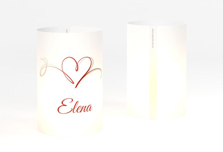 """Windlicht Hochzeit """"Envie"""" Windlicht rot"""