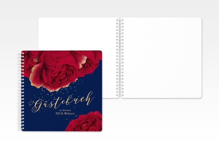 "Gästebuch Hochzeit ""Cherie"" Ringbindung"