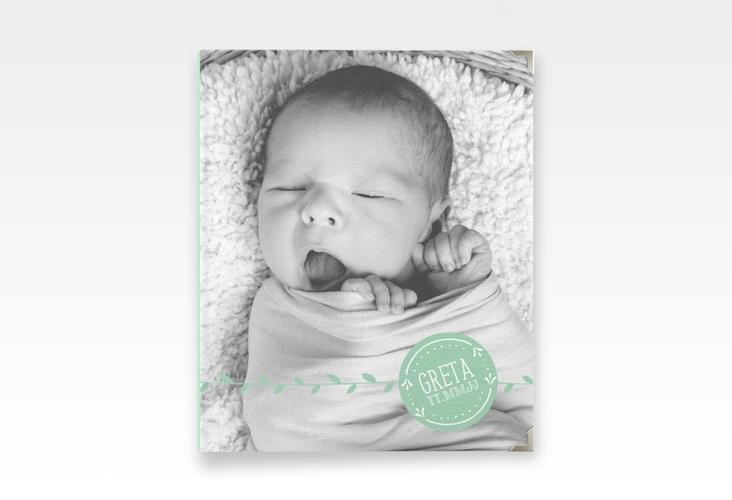 "Baby Fotoalbum ""Unikat"" 21 x 25 cm mint"