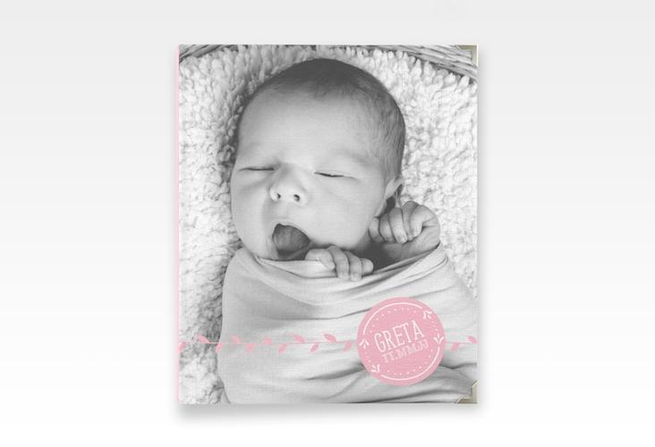 """Baby Fotoalbum """"Unikat"""" 21 x 25 cm rosa"""