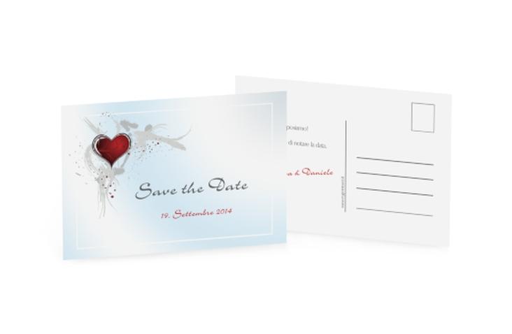 Biglietti Save the Date collezione Rieti A6 Postkarte