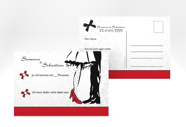 "Antwortkarte Hochzeit ""Straßburg"" A6 Postkarte"
