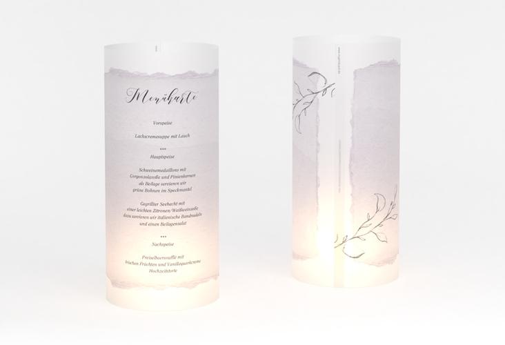 """Windlicht Menü Hochzeit """"Villa"""" Windlicht"""