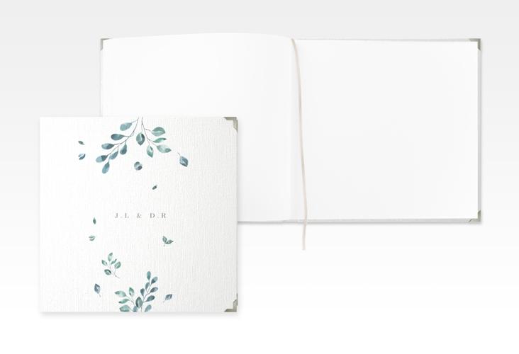 """Gästebuch Selection Hochzeit """"Precioso"""" Leinen-Hardcover weiss"""