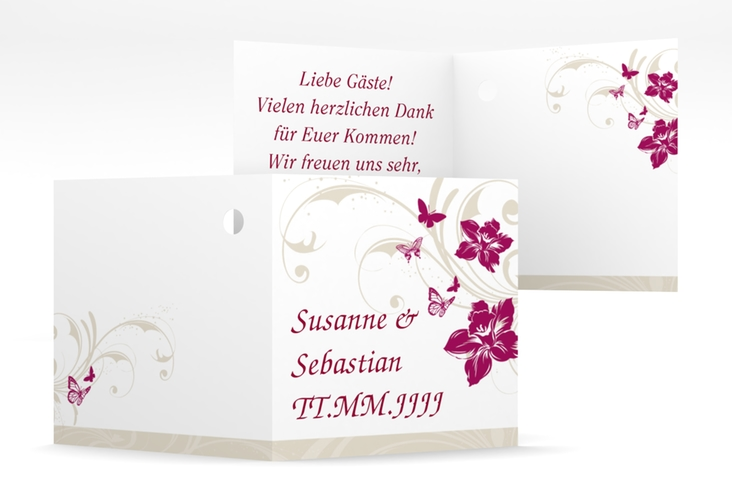 """Geschenkanhänger Hochzeit """"Parma"""" Geschenkanhänger 10er Set"""