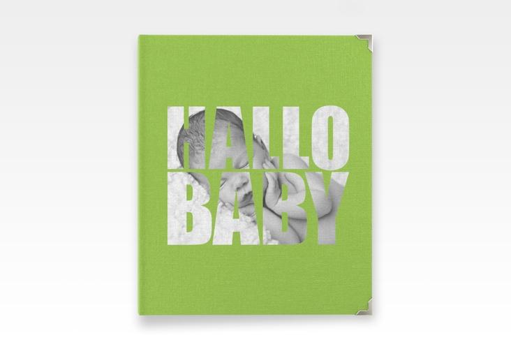 """Baby Fotoalbum """"Wunderlich"""" 21 x 25 cm gruen"""