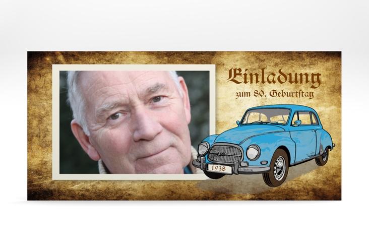 """Einladungskarte """"Friedrich"""" DIN lang"""