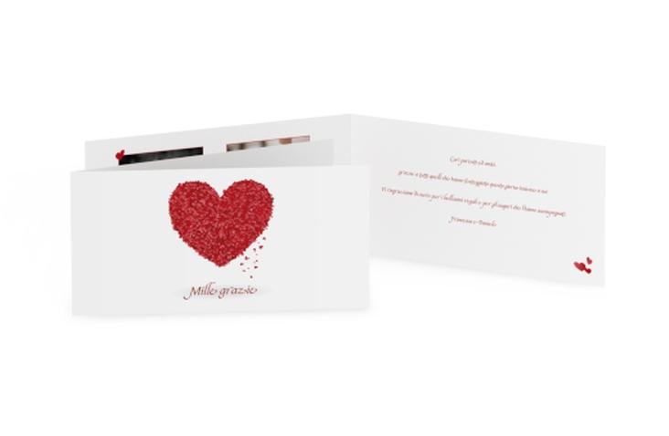 Ringraziamenti matrimonio collezione Colonia DIN lang Klappkarte