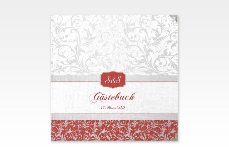 "Gästebuch Selection Hochzeit ""Latina"" Hardcover rot"