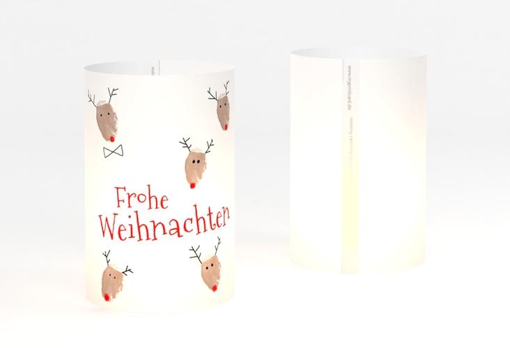 """Windlicht Weihnachten """"Rudolph"""" Windlicht"""