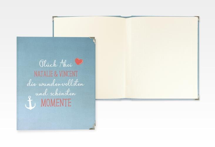 """Hochzeitsalbum """"Ehehafen"""" 21 x 25 cm"""