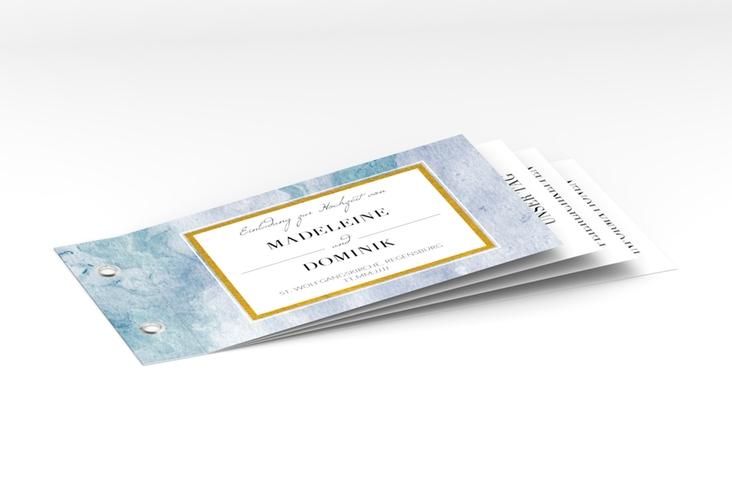 """Hochzeitseinladung """"Marble"""" Booklet"""