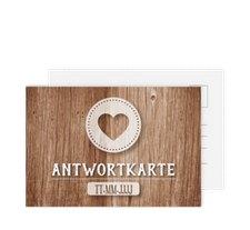 """Antwortkarte Hochzeit """"Flair"""""""