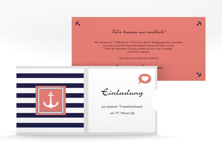"""Hochzeitseinladung """"Girona"""" Einsteckkarte"""