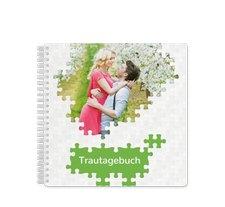 """Trautagebuch Hochzeit """"Puzzle"""""""