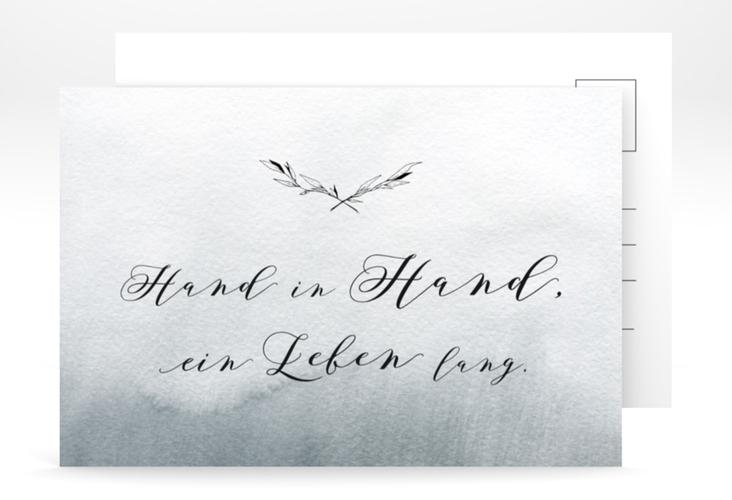"""Antwortkarte Hochzeit """"Divine"""" A6 Postkarte"""