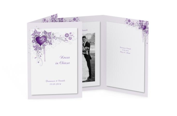 Libro messa matrimonio collezione Trieste DIN A5 geklappt