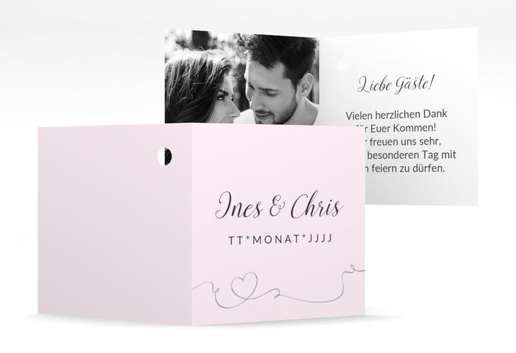 """Geschenkanhänger Hochzeit """"Dolce"""" Geschenkanhänger 10er Set rosa"""
