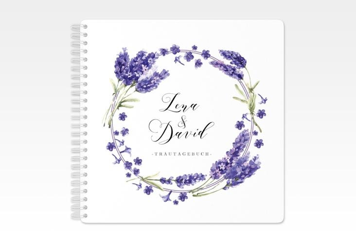 """Trautagebuch Hochzeit """"Lavendel"""" Trautagebuch Hochzeit"""