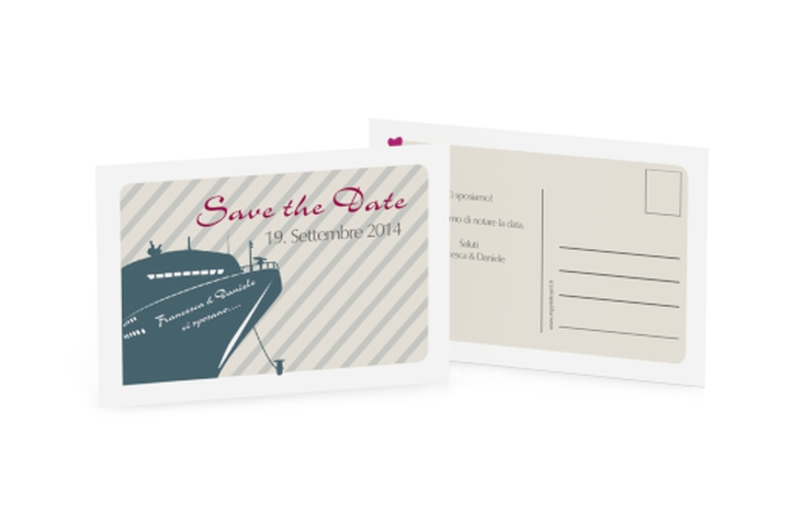 Biglietti Save the Date collezione Maiorca A6 Postkarte