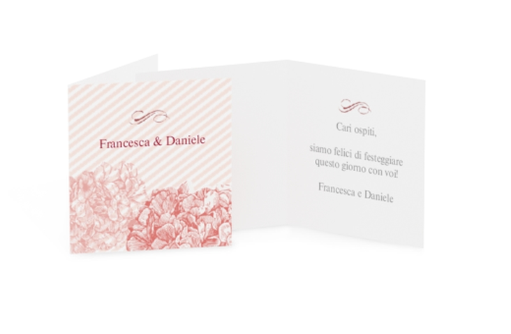 Biglietti Bomboniera matrimonio collezione Marbella Geschenkanhänger 10er Set
