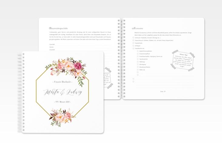 """Trautagebuch Hochzeit """"Prachtvoll"""" Trautagebuch Hochzeit"""