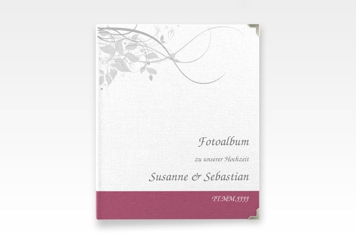 """Hochzeitsalbum """"Florenz"""" 21 x 25 cm pink"""
