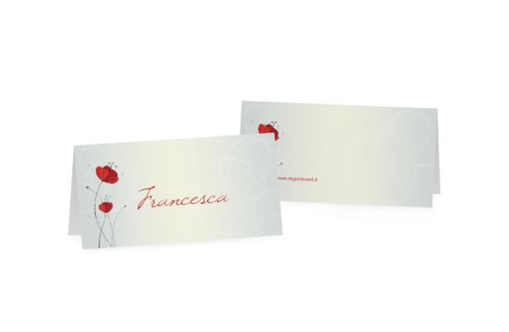 Segnaposti matrimonio collezione Madrid Tischkarten