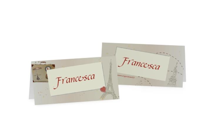 Segnaposti matrimonio collezione Catania Tischkarten
